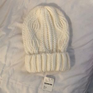 NWT Free People Cable Knit Beanie